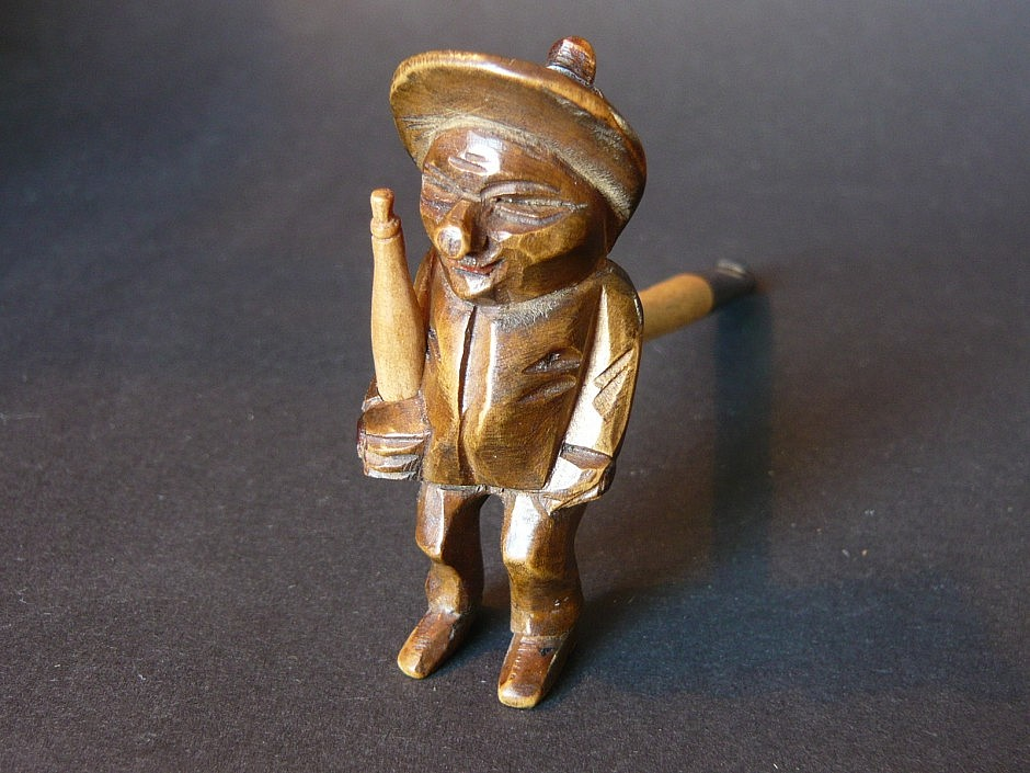 Cigar holder from the Moselle, so called Petermännchen