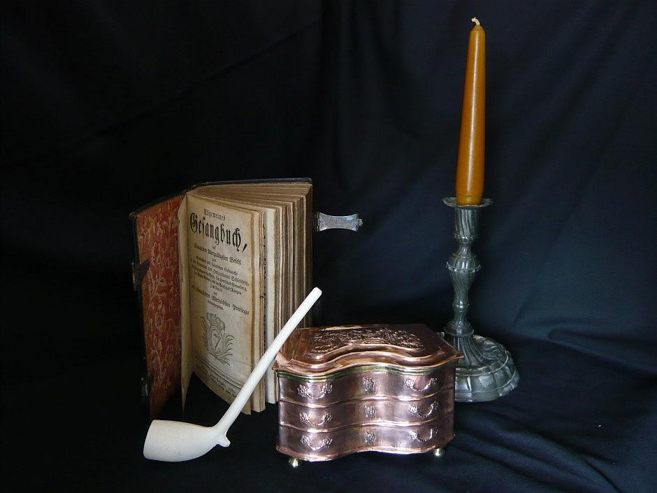 Baroque snuffbox for smoking tobacco