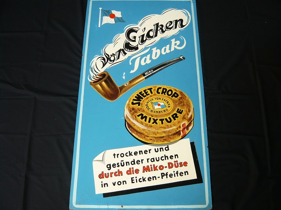 "Promotional image of the tobacco company ""von Eicken"""